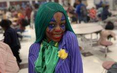 Halloween Costumes Dotted Dale Hallways Making it a Spookier Day